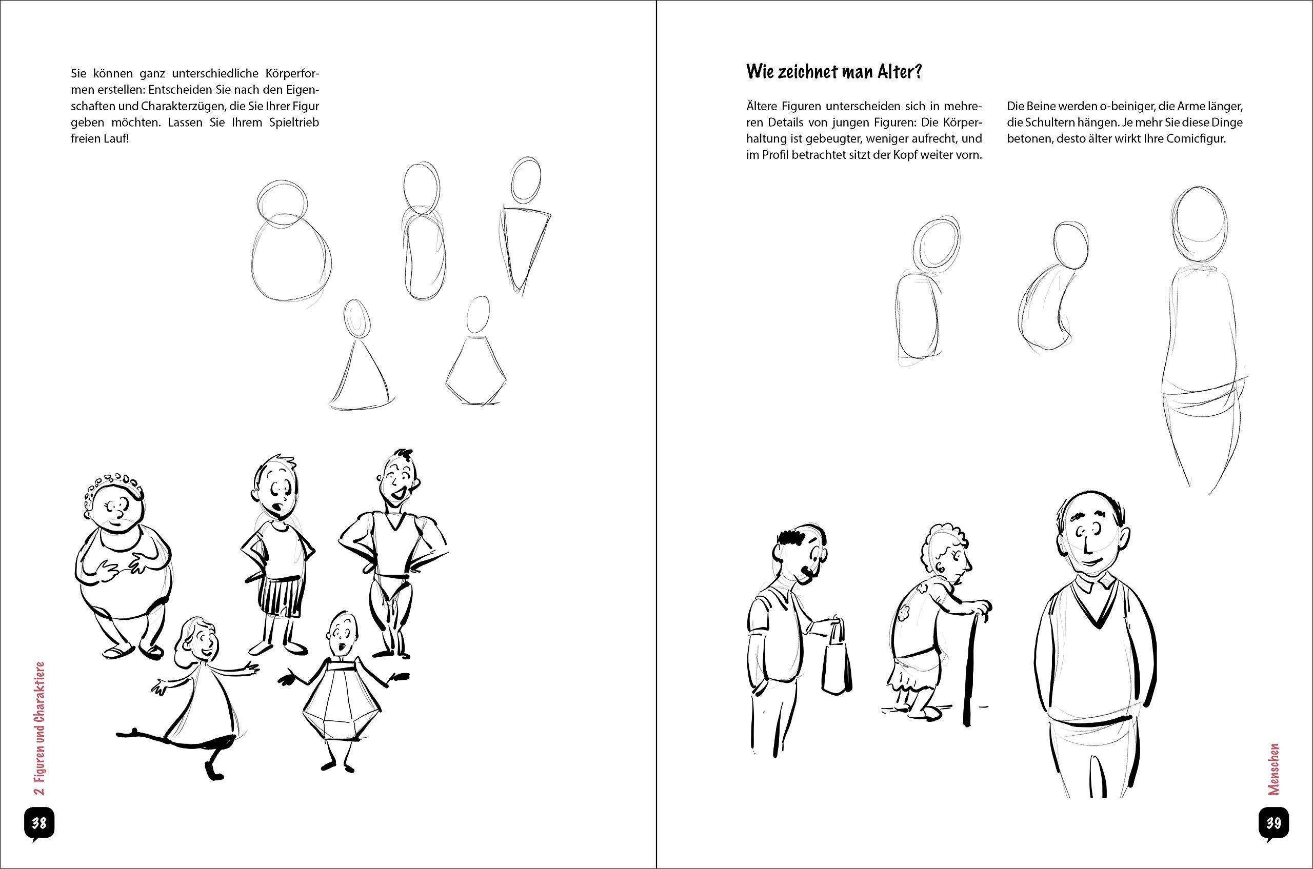 Anleitung comicfiguren zeichnen Schuhe zeichnen
