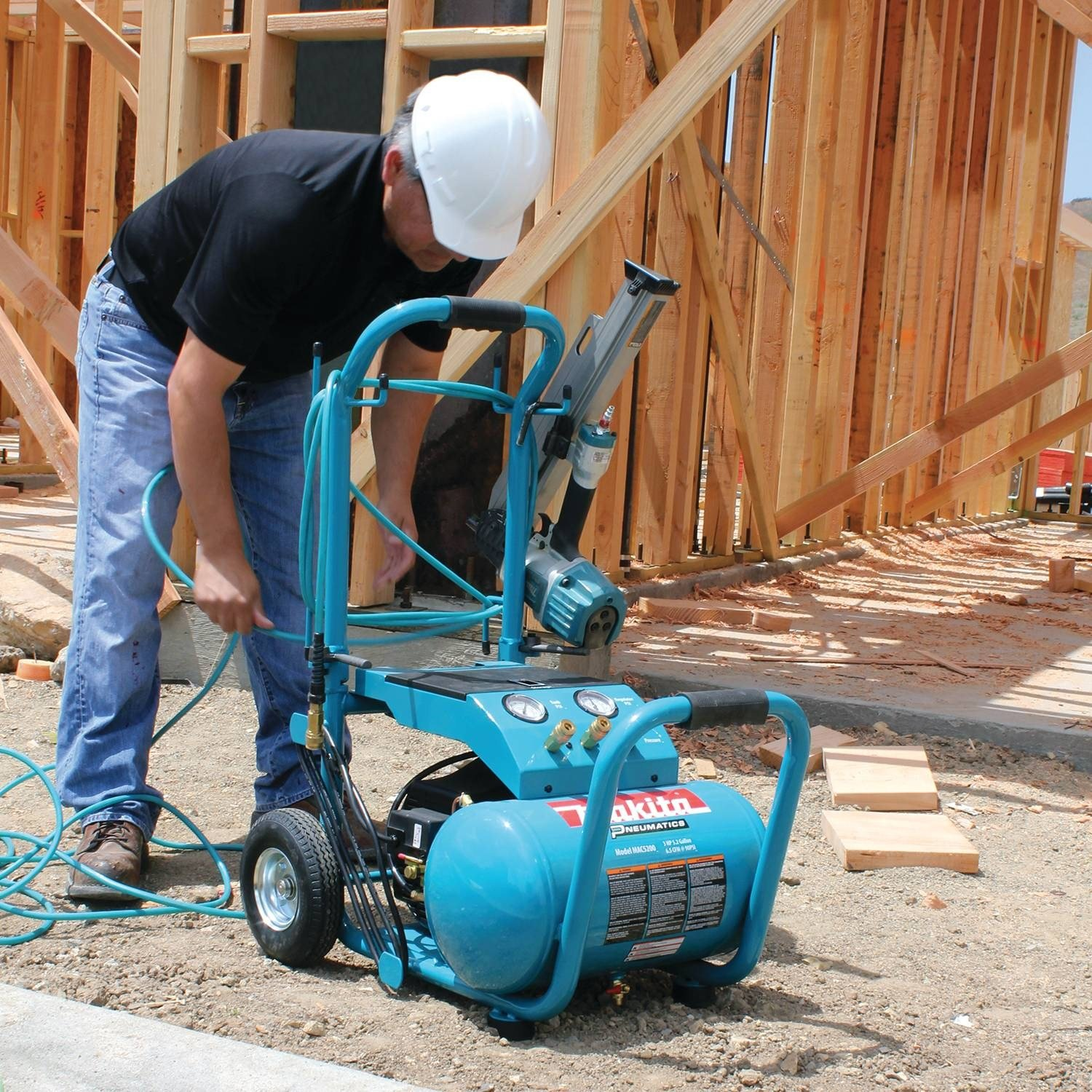 best portable air compressor for construction