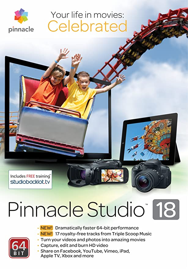 pinnacle studio 18 32 bit free download