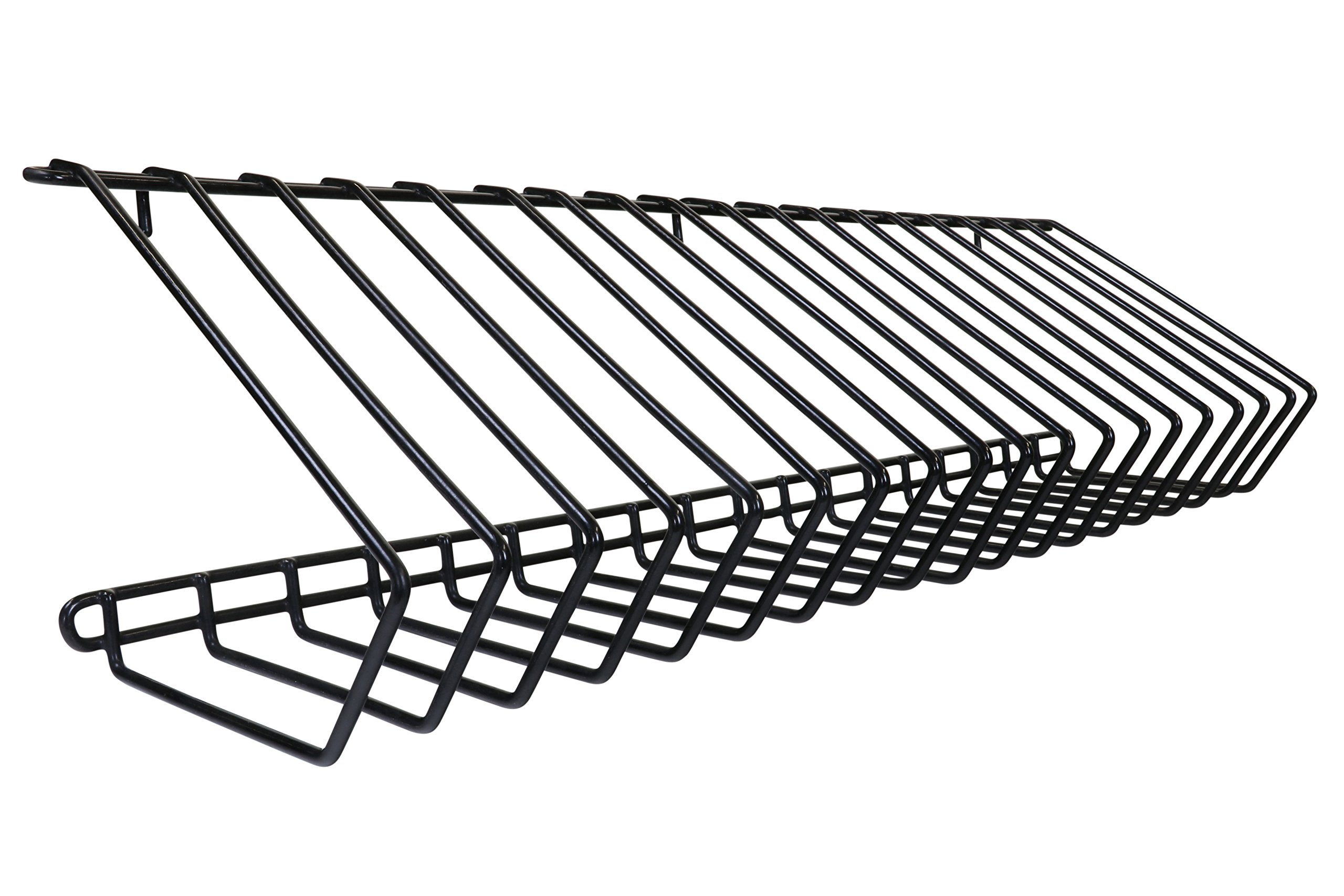 LocknCharge Carrier 40 Wire Rack Pair 20 Slot, Black (10108) by LocknCharge