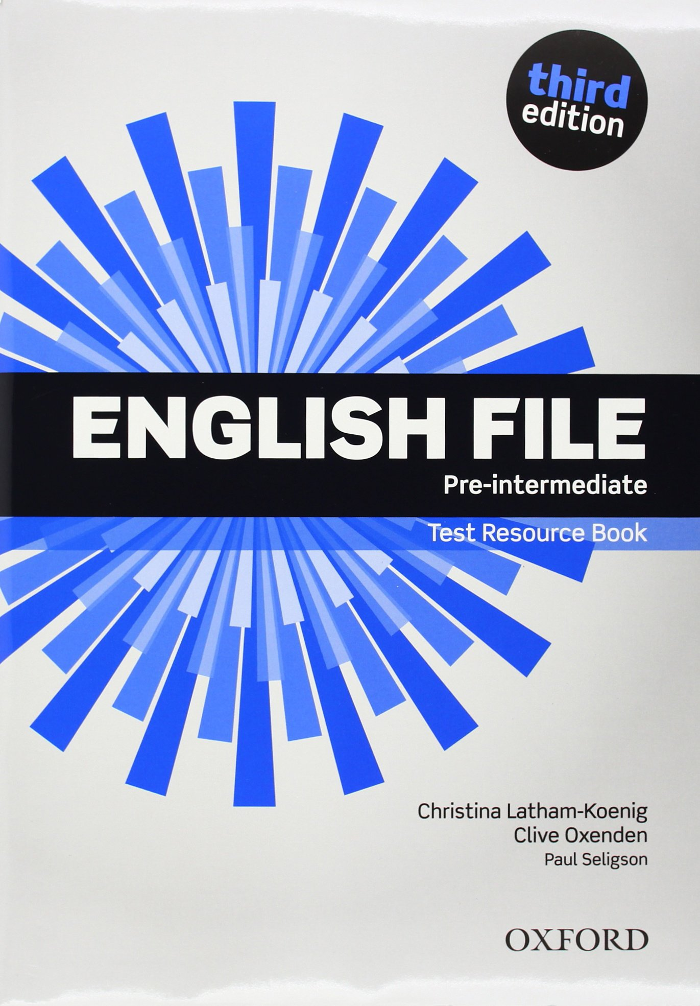 English File 3rd Edition Pre Intermediate Teacher S Book Test Cd Pack English File Third Edition Spanish Edition Oxenden Clive 9780194598750 Amazon Com Books