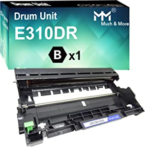 MM MUCH & MORE Compatible Drum Unit Replacement for Dell E310 E514 E515 Drum to use with Dell E310dw E514dw E515dw E515dn (1 x Drum)