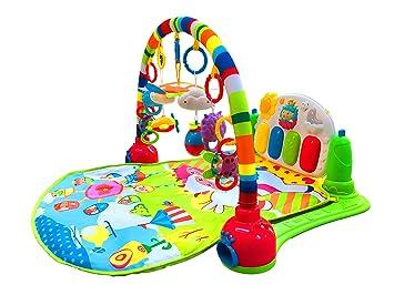 1 pcs multicolore bébé soft pad jouet tapis de jeu couverture ...