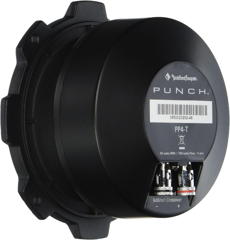 """Single NEW Rockford Fosgate PP4-T Punch Pro Series 1-1//2/"""" 4-Ohm SPL Tweeter"""