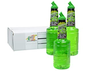 Finest Call Premium Sour Apple Martini Drink Mix, 1 Liter Bottle (33.8 Fl Oz), Pack of 3