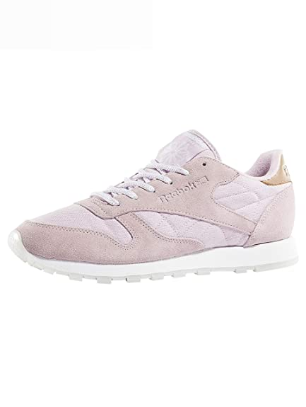 a3ede57fc8c Reebok Women Sneakers Classic Leather Sea-Worn  Amazon.co.uk  Shoes ...