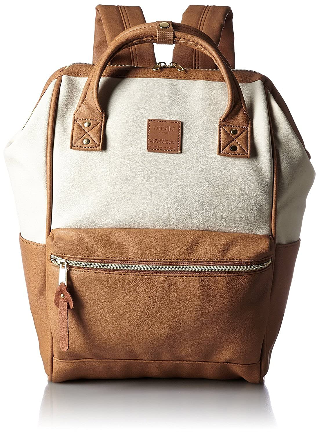Anello Synthetic Leather Backpack Large with Japan Orignal Gift