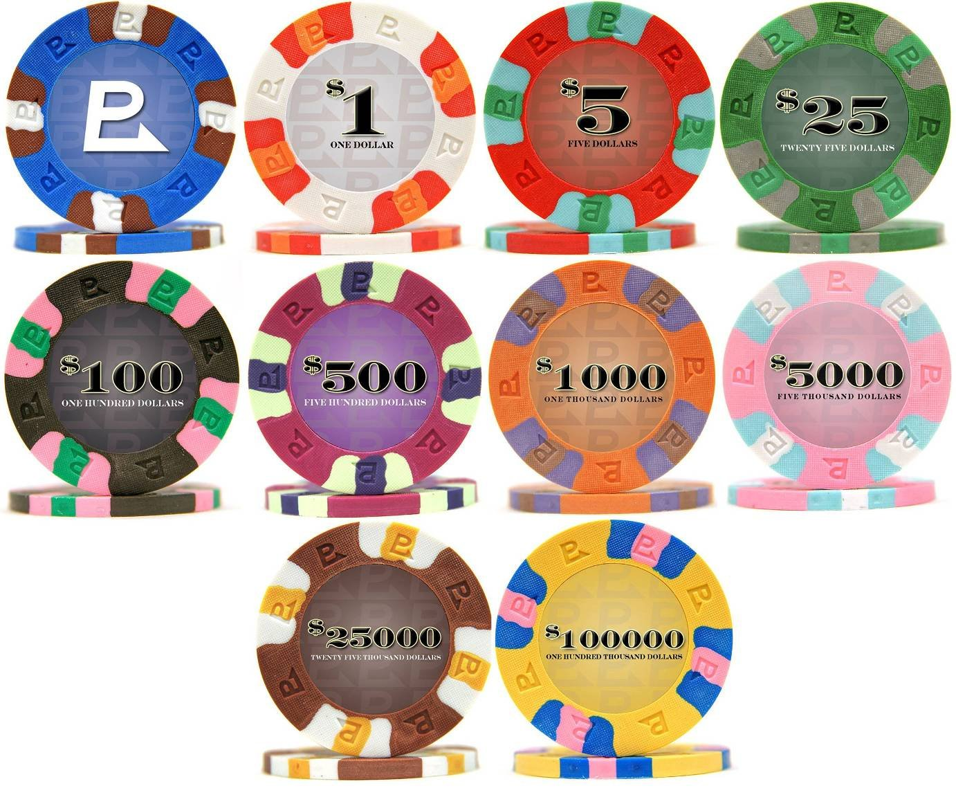 9 gram casino size clay poker chips everestpoker.com gambling ic1fag online online poker poker