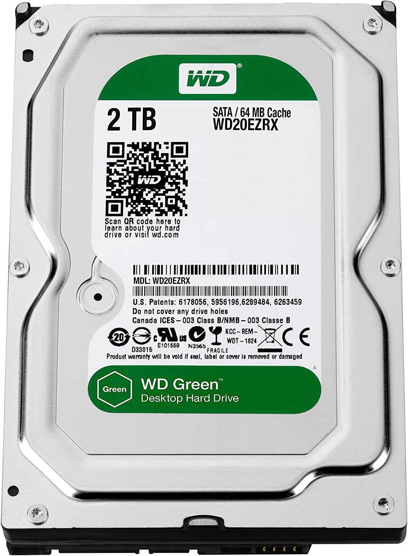 Western Digital Wd20ezrx 2tb Interne Festplatte 3 5 Computer Zubehör