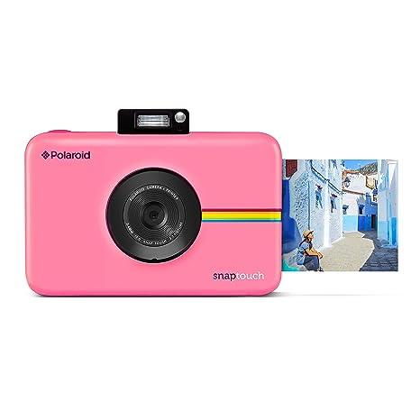 Polaroid Snap Touch Appareil Photo Numérique à Impression Instantanée Avec écran Lcd Et Technologie Dimpression Sans Encre Zink Rose