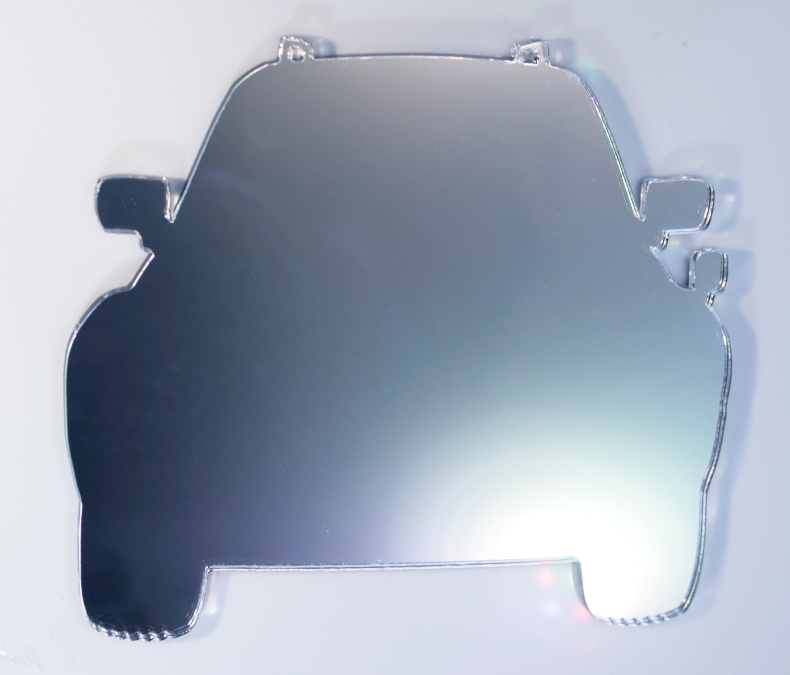 Car Mirror - Available in various sizes, including sets for crafting kits - 50cm x 43cm
