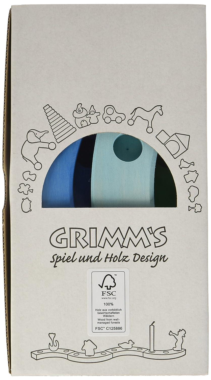 Grimms Spiel Und Holz Design Grimm's Geburtstagsring 16 Jahre, blau grün blau grün 02162