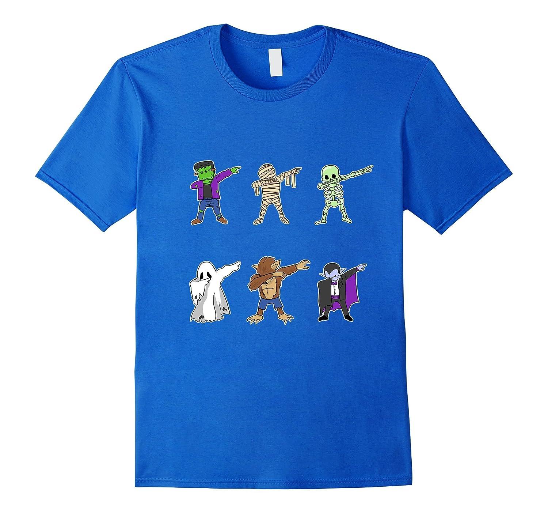 75c5936d Dabbing Monsters T-Shirt Funny Dab Halloween Gift-ANZ ⋆ Anztshirt
