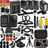 GoPro HERO8 (Hero 8) Action Camera (Black) with Premium Accessory Bundle –Includes: SanDisk Extreme 32GB microSDHC Memory Car