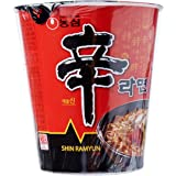 Nongshim Shin Cup Noodles, 68g, (Pack of 12)
