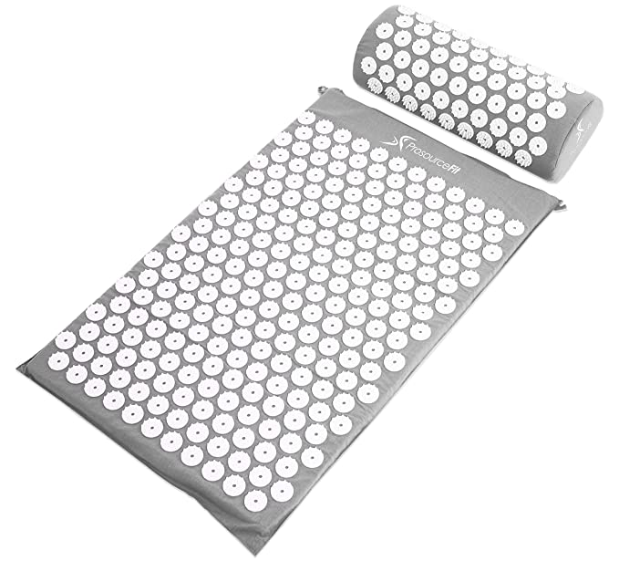 Prosource Acupressure Mat And Pillow Set For Back Neck Pain Relief