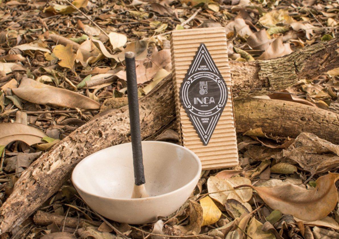 新しいボックスの9プレミアムPalo Santo Incense Sticks :手作り100 %ナチュラル、アーティザンand Therapeutic Incense Stickからのブラジルアマゾンフォレスト、経験正エネルギー& Harmony , Crafted by Inca   B07BP1BZGZ