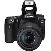 Canon Digital Camera - SLR Canon EOS 90D DSLR with EFS 18-135mm f/3.5-5.6mm IS STM Lens , Black (90DSK)