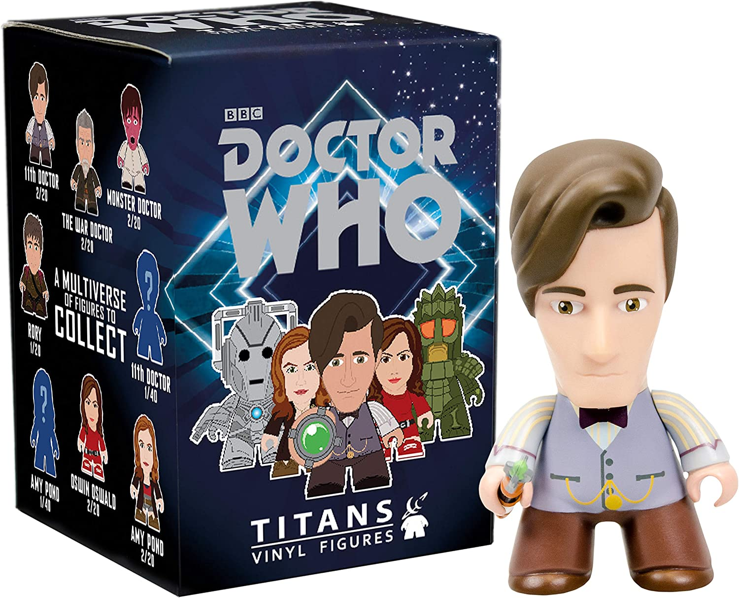Titans Doctor who 11th doctor Collection 3/'/' Vinyl action Figures toys
