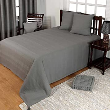 homescapes jet de lit ou jet de canap gris 225 x 255 cm collection - Jete De Canape