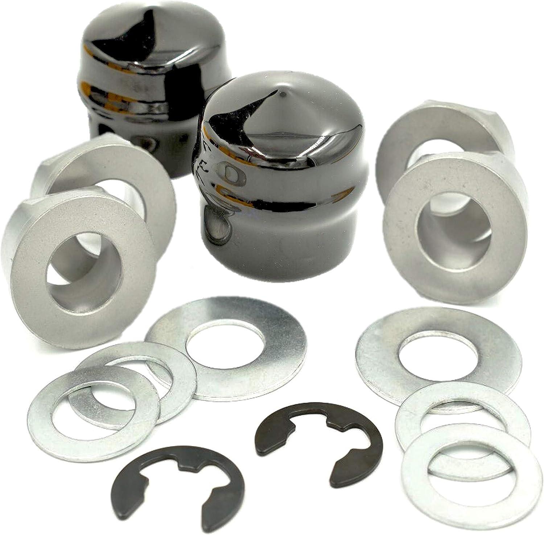 9040 Front Wheel Bushing W//Caps Fits Husqvarna Craftsman 532009040 9040H