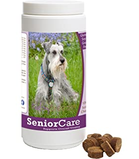 Healthy Breeds Senior Care Soft Chews - Vet Formulated to Support Overall Vitality - Over 200