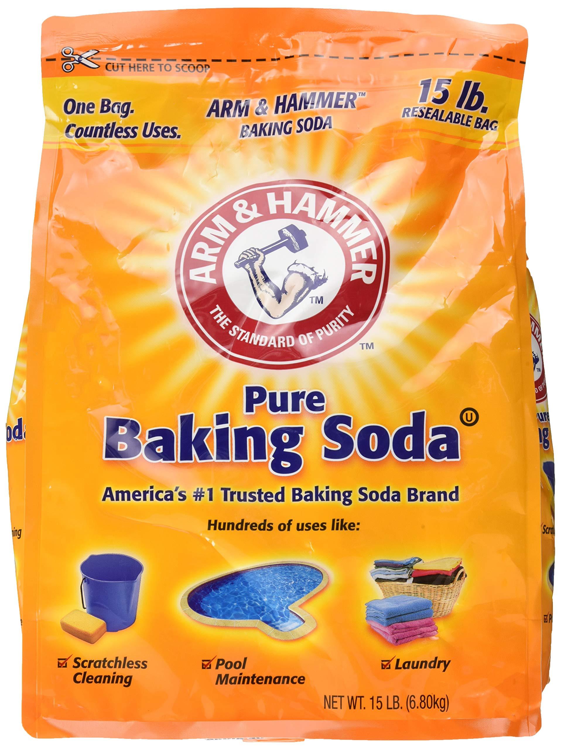 ARM & HAMMER Baking Soda, 13.5 Pound by Arm & Hammer