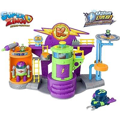 Superzings - Kazoom Lab Battle con únicas y exclusivas figuras de Enigma y Profesor K , color/modelo surtido