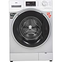 IFB 8kg Fully-Automatic Front Loading Washing Machine (Senator WXS, Silver, Inbuilt Heater, Aqua Energie water softener)