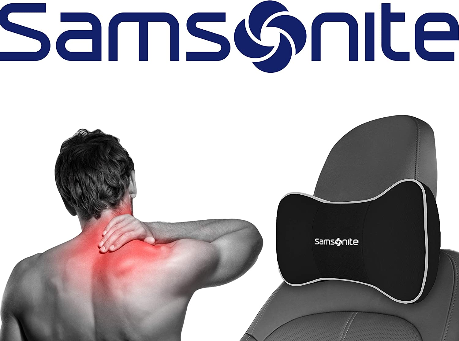 Amazon.com: Samsonite SA5248 - Almohada para cuello: Automotive