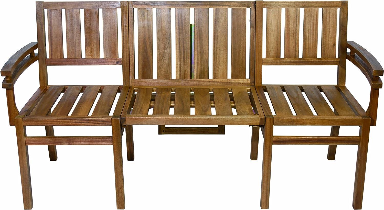 my Balconia Seattle Bench 【シアトルベンチ】2ウェイベンチ&テーブル ドイツGust社デザイン企画 B01LY3AB1J