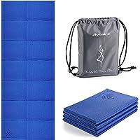 Avoalre Grotere Yoga Mat Antislip Opvouwbare Draagbare 183 CM x 80 CM x 6 MM Gym Mat Fitness Training Pilates Oefening…