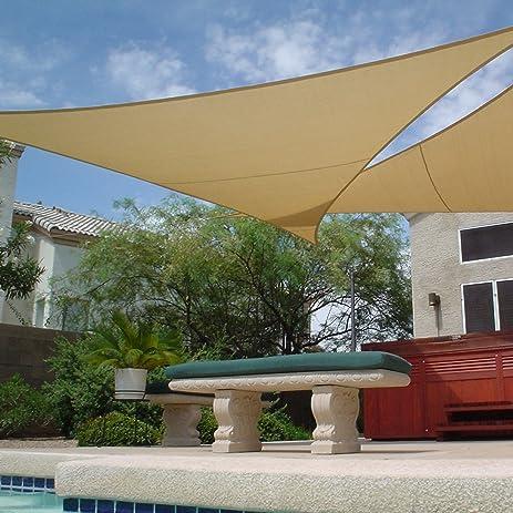 Apontus Sun Shade Sail Canopy Outdoor Patio ...
