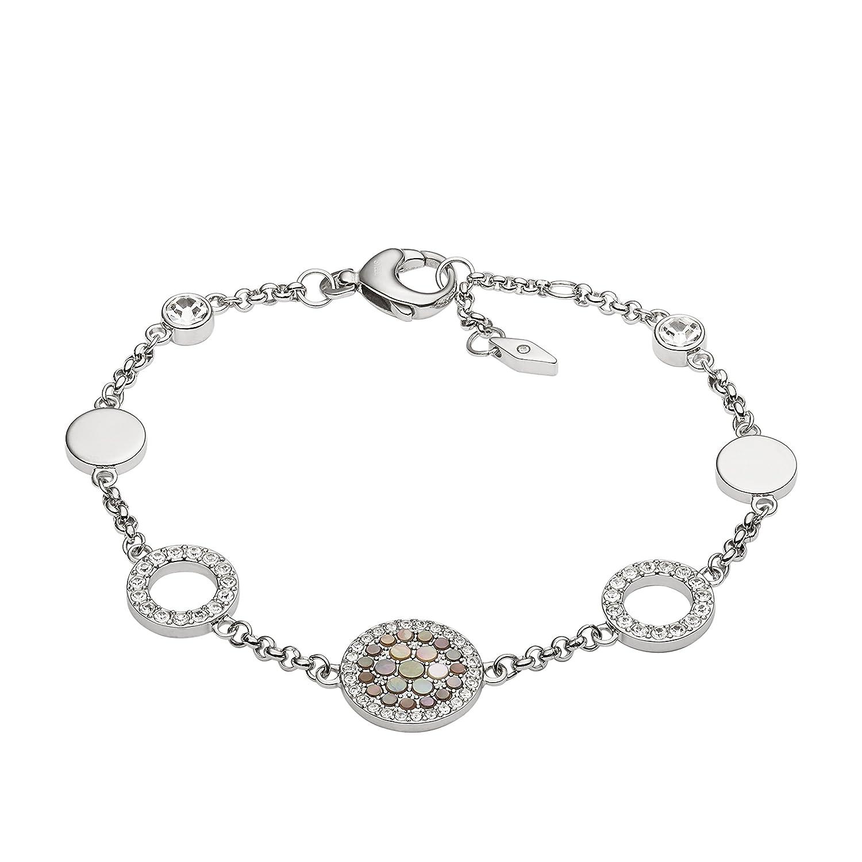 Fossil Womens Silver Bracelet JF02311040