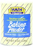 Hain Pure Foods Featherweight Baking Powder, 8 Ounce