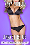 Jenna's First Job (Rough MFF threesome with a stranger) (Life of an Escort series)
