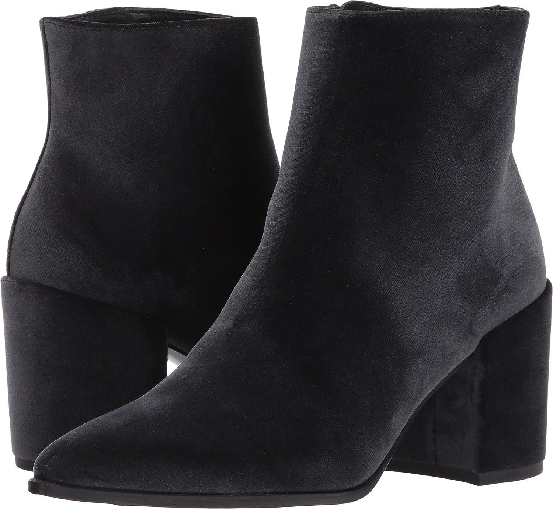 Stuart Weitzman Women's Trendy Ankle Boot B06XTZPFZ4 9.5 C/D US|Smoke Velvet 1