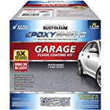 Rust-Oleum 251965 EPOXYSHIELD Garage Floor Coating, 1 Car Kit, Gray