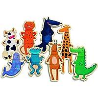 Djeco Wooden Magnetics Crazy Animals, DJ03111