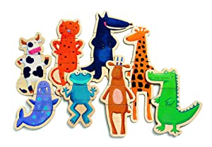 Crazy Animals Magnets - 24 Pieces
