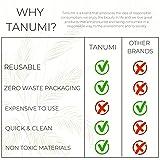 TANUMI Reusable Makeup Remover Cotton Pads   12