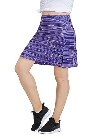 Westkun - Falda de Tenis para Mujer, Longitud hasta la ...