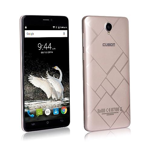 CUBOT MAX 6-Inch SIM-Free Smartphone - Gold