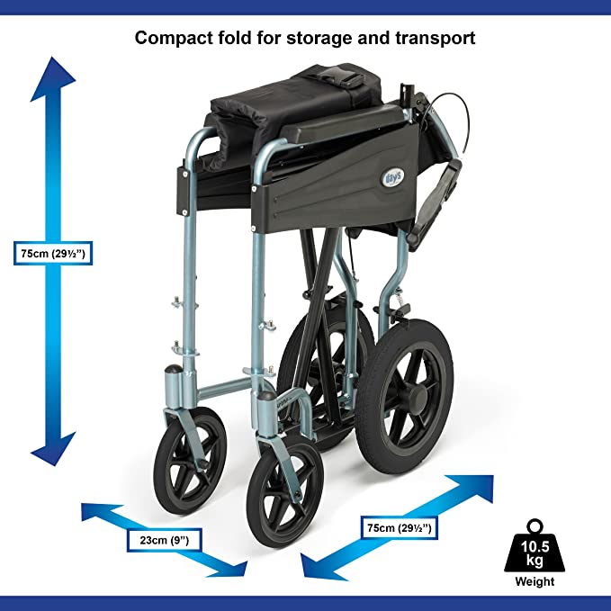 Days Escape Lite Aluminium Wheelchair image 3