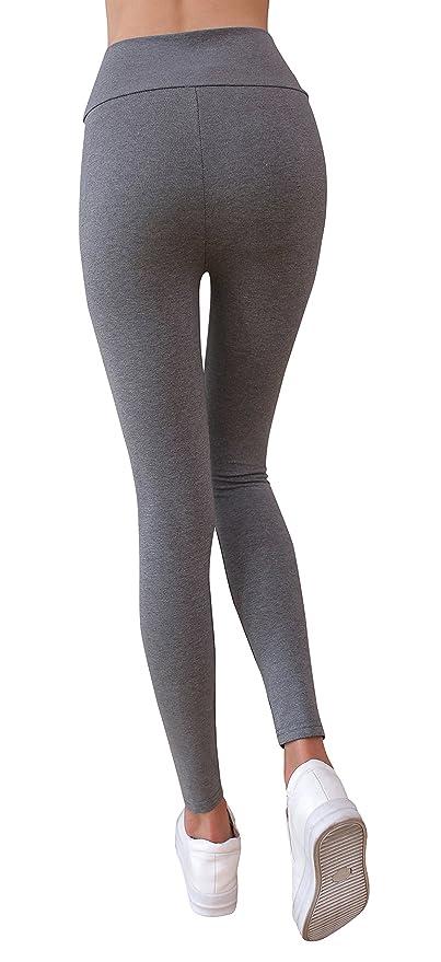 ba91205b22b2b6 IRELIA Winter Womens Fleece Lined High Waisted Leggings at Amazon Women's  Clothing store: