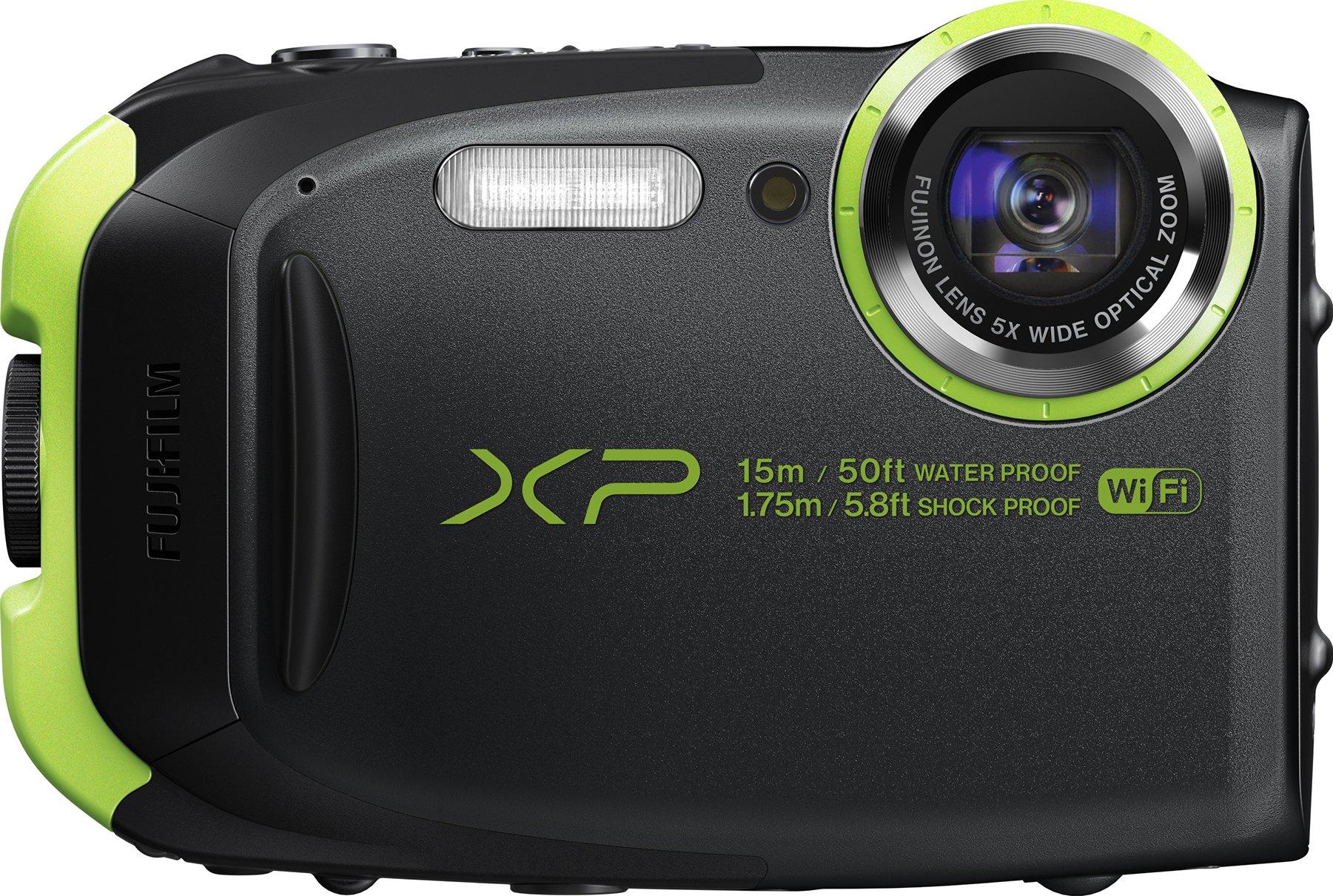 Fujifilm FinePix XP80 Waterproof Digital Camera with 2.7-Inch LCD (Graphite Black) by Fujifilm