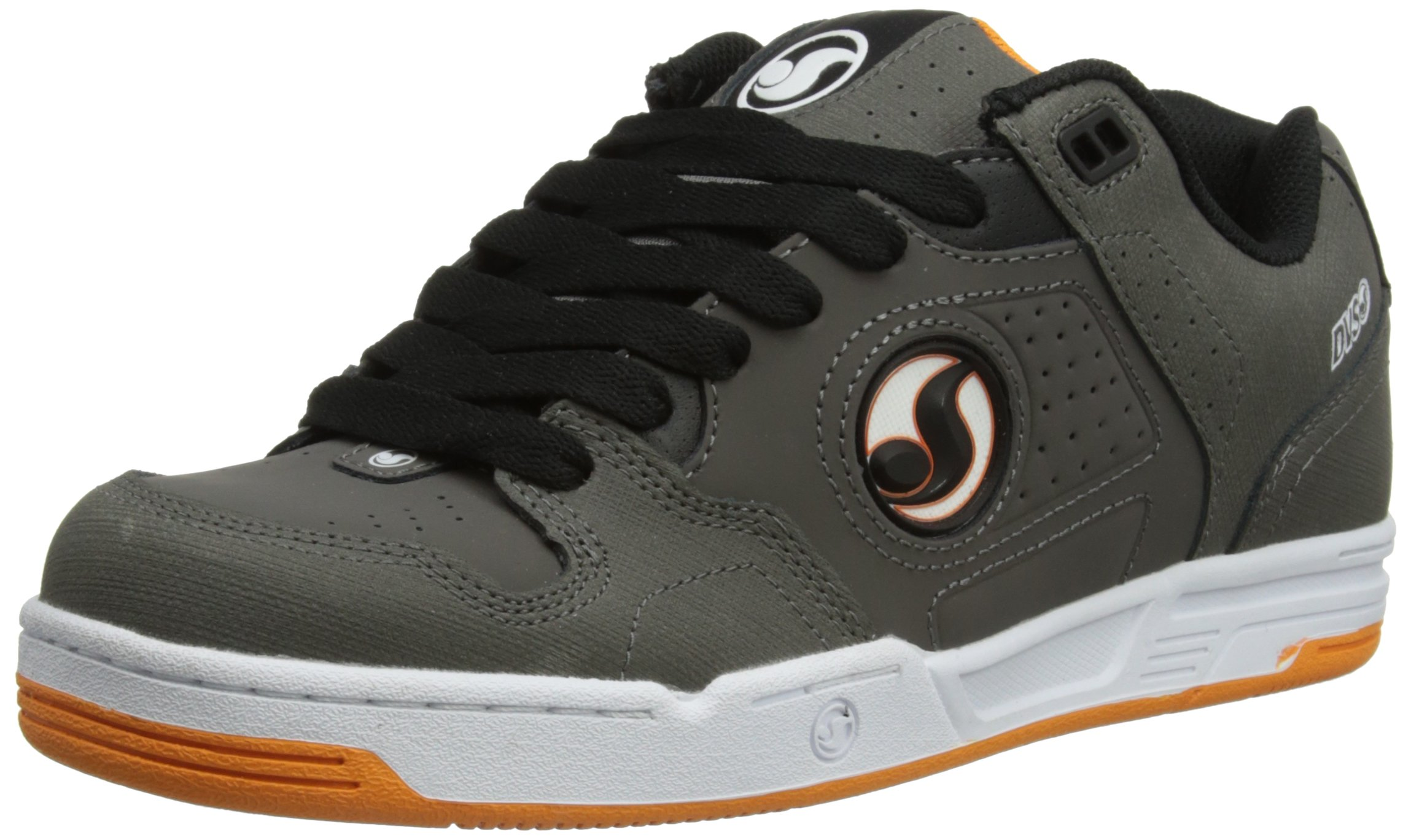DVS Havoc Skate Shoe,Grey Leather,8 M US