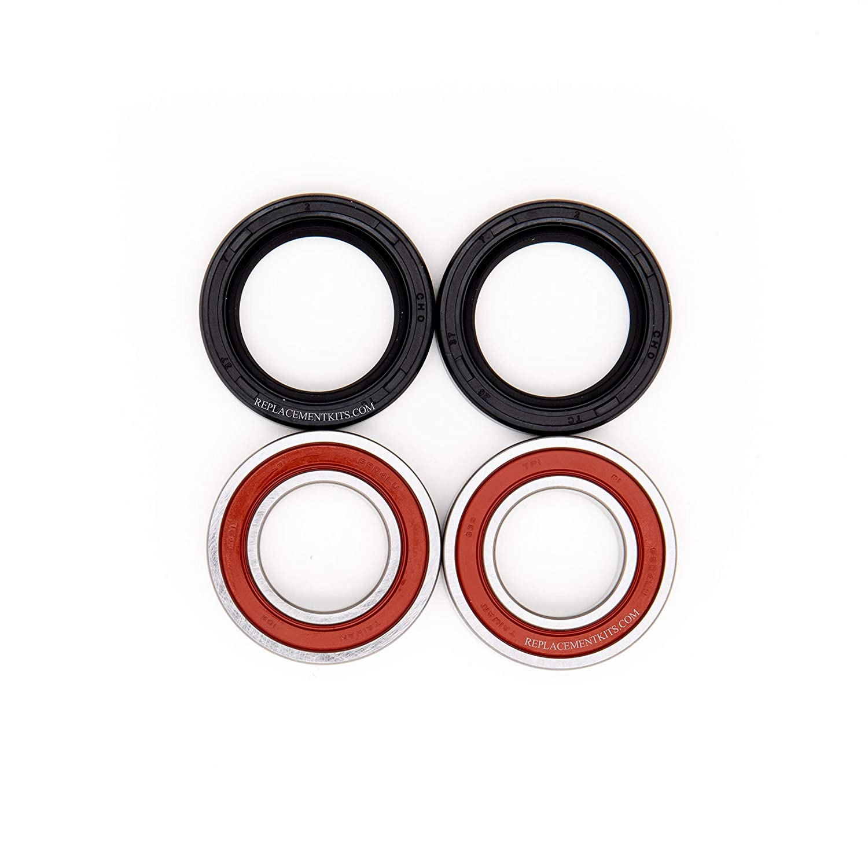 REPLACEMENTKITS.COM Brand Fits Honda CR250R Front Wheel Bearings /& Seals Kit