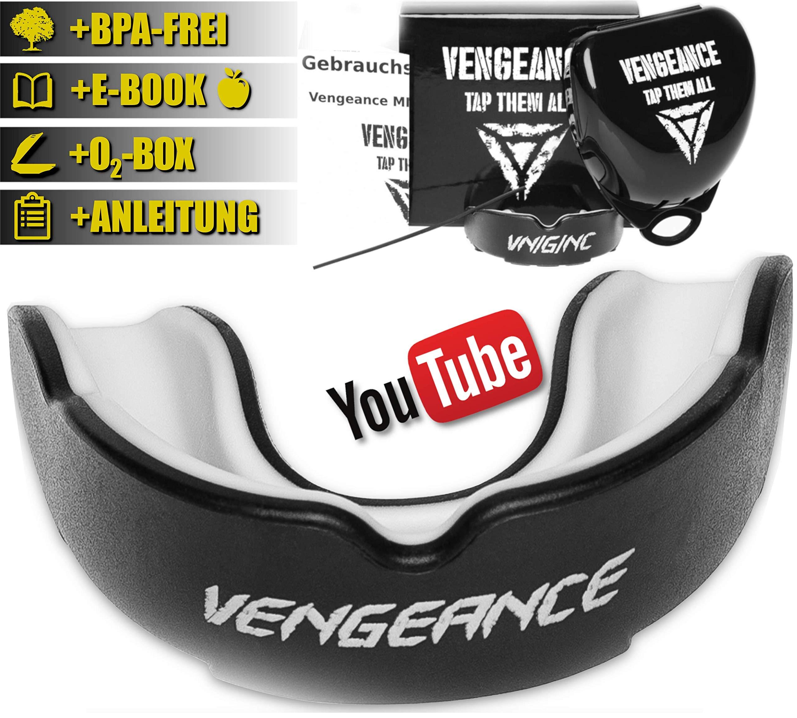 Venum Zahnschutz Challenger Gelb-Schwarz Mouthguard MMA Muay Thai Kickboxen
