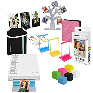 Amazon.com: Polaroid Mint - Impresora de bolsillo, color ...